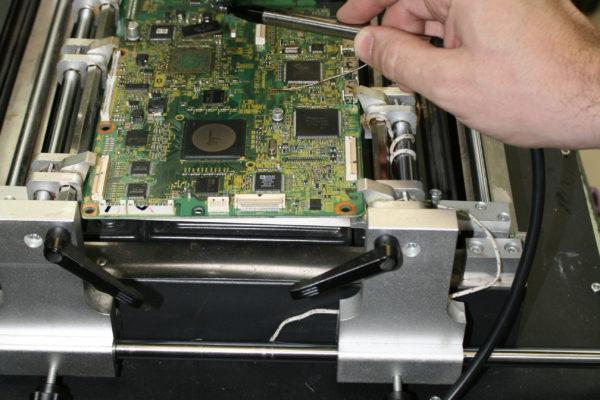 Снятие BGA процессора